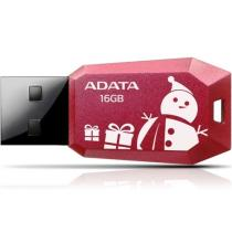 A-Data 16GB Flash Drive UV100F Chrismas Red